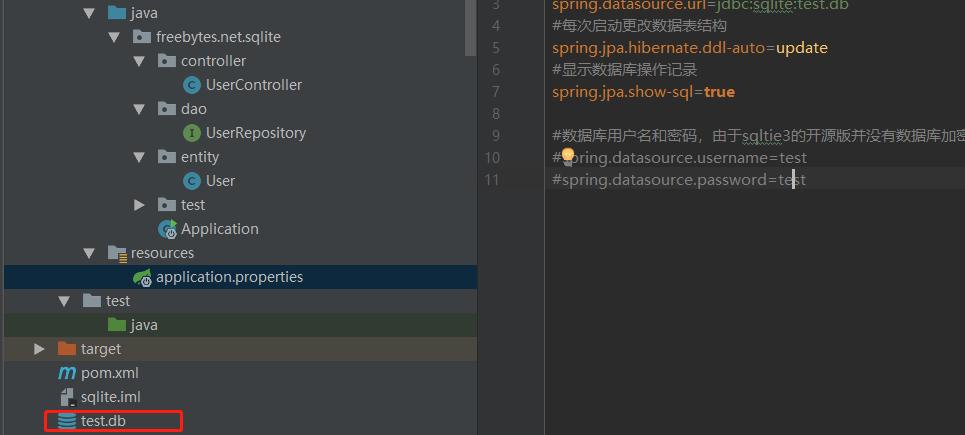 整合SQLite+SpringBoot+JPA插图