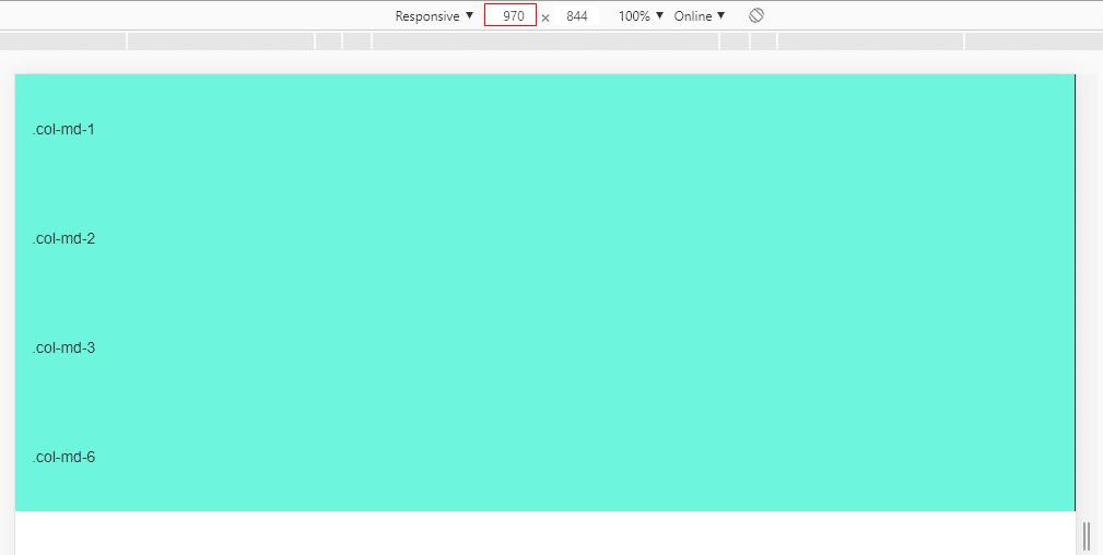 Bootstrap栅栏系统中的响应式原理探索插图(1)